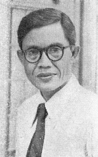 Hazairin - Image: Dr Hazairin, Pekan Buku Indonesia 1954, p 242