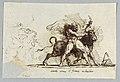 Drawing, Hercules renders Horn from Bull Achelous, 1805 (CH 18122205).jpg