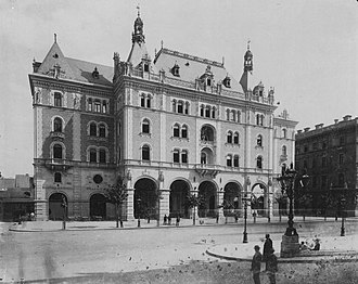 Ödön Lechner - Image: Drechsler palota fortepan 82314