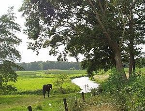 Nationaal beek- en esdorpenlandschap Drentsche Aa - Image: Drentse Aa RA