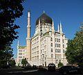 Dresden - Yenidze, Bürogebäude 1908 im Stil einer Moschee gebaut.JPG