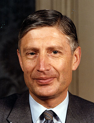 Christian Democratic Appeal - Dries van Agt, Leader from 1976 until 1982 and Prime Minister of the Netherlands from 1977 until 1982.