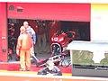 Ducati Marlboro Team garage 2006 Mugello.jpg