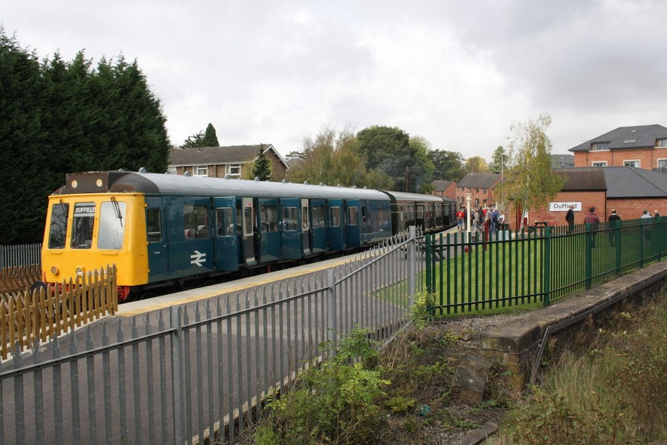 Duffield DMU on Ecclesbourne Valley Railway geograph-2647355-by-Roger-Templeman
