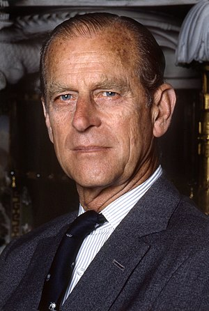 British prince - HRH The Duke of Edinburgh, husband and consort of the Queen.