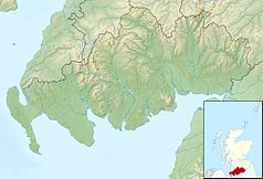 Mapa lokalizacyjna Dumfries and Galloway