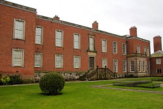 Dunham Massey Hall - The garden front