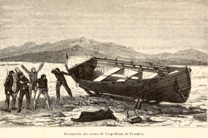 McClintock Arctic Expedition - Jean-Baptiste Henri Durand-Brager, Discovery of the remains