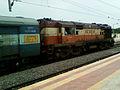 Durg-VSKP Passenger at Simhachalam 01.jpg