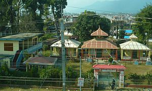 Bharatpur, Nepal - Durga Temple situated in Bharatpur 11 Baseni of Chitwan district