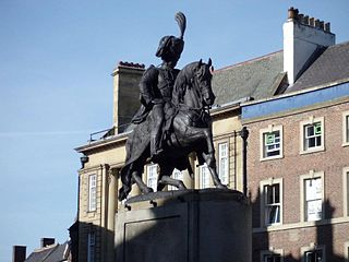 Statue Of Third Marquess Of Londonderry