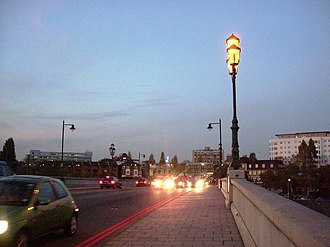 South Circular Road, London - Kew Bridge is at the western end of the South Circular