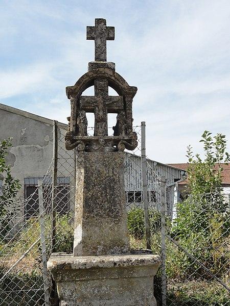 Duzey (Meuse) croix de chemin