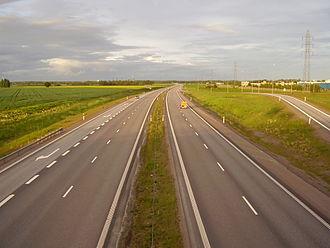 European route E4 - Image: E4Lpb