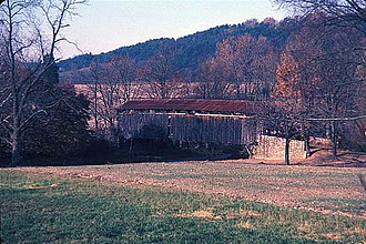 National Register of Historic Places listings in Juniata County, Pennsylvania - Image: EAST ORIENTAL COVERED BRIDGE