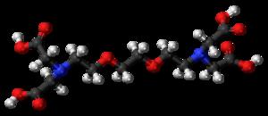 EGTA (chemical) - Image: EGTA 3D ball