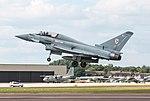 EGVA - Eurofighter Typhoon T3 - Royal Air Force - ZJ801 (43885346331).jpg