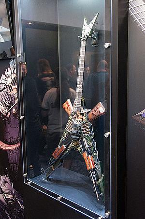 "ESP Guitars - ESP Custom Shop ""Ghost Soldier""."