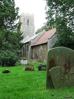 Earl Soham village in the United Kingdom