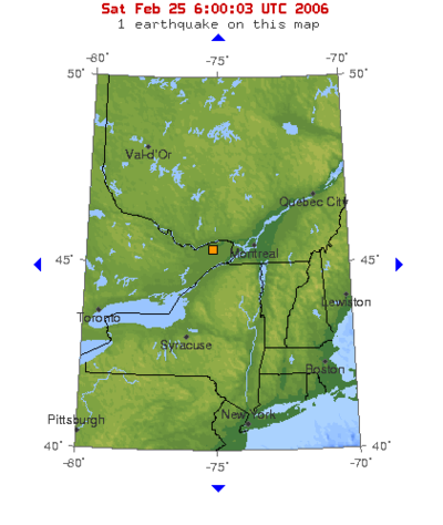 Earthquake hits Ottawa, Canada - Wikinews, the free news source