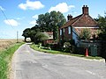 East past cottages near Bodham Common - geograph.org.uk - 545795.jpg