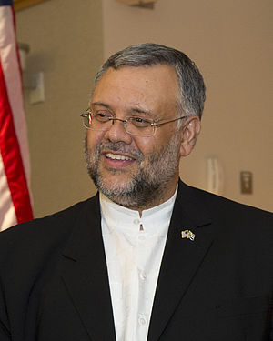 South African Ambassador to the United States - Image: Ebrahim Rasool at the Pentagon July 25, 2012