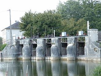 Boutonne - The Boutonne at Saint-Jean-d'Angély
