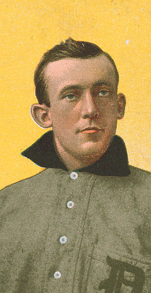 Ed Killian - Killian on a 1909 cigarette card