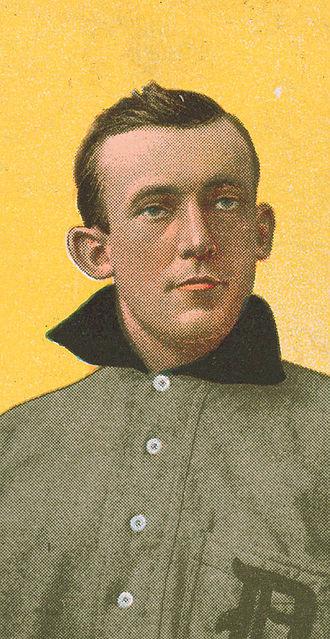 Ed Killian - Killian on a 1909 cigarette card