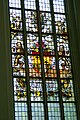 Edam - Grote Kerk - View North on Stained Glass Window donated by the City of Rotterdam.jpg