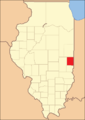 Edgar County (1830–present), with the additional territory incorporated into Coles County
