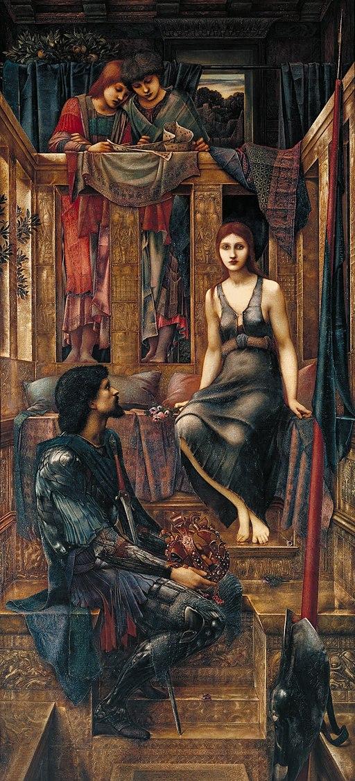 """King Cophetua and the Beggar Maid"" by Edward Burne-Jones"