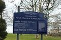 Eglwys y Santes Fair Church of St Mary, Nercwys, Wrexham, Wales z 03.jpg