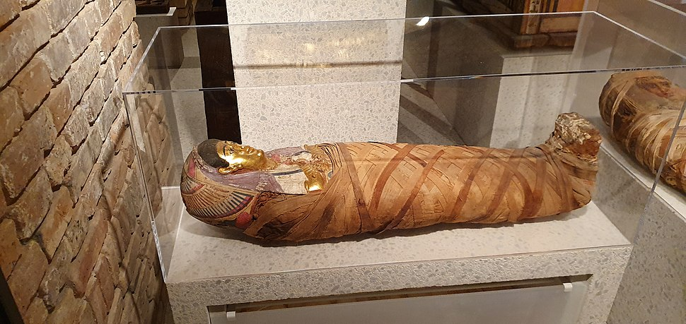 Egyptian mummies in Ägyptisches Museum Berlin