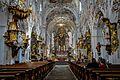 Ehemalige Kloster Stitfskirche Rottenbuch im Allgäu - Langschiff (9715585503).jpg