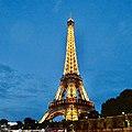 Eifel Tower at evening, Paris, France (Ank Kumar) 06.jpg