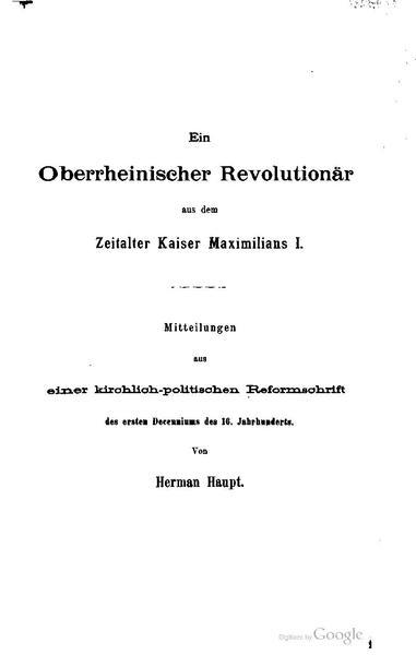 File:Ein Oberrheinischer Revolutionaer aus dem Zeitalter Kaiser Maximilians I.pdf