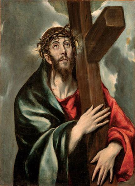File:El Greco - Jesús con la Cruz a cuestas.jpg