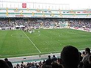 Estadio Martínez Valero, sede del equipo de futbol del Elche CF.