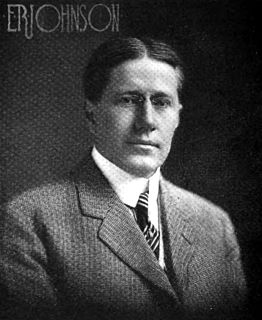 Eldridge R. Johnson phonograph producer and co-creator of Viktor Talking Machine Company