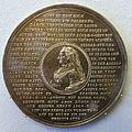 Elisabeth Sophie Marie, Herzogin von Braunschweig-Wolfenbuttel, life history medal, by Friedrich Wilhelm Schmidt, 1760 - Bode-Museum - DSC02817.JPG