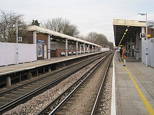 Eltham railway station - Image: Eltham railway station, Greater London