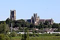 Ely Cathedral over the Railway Station.jpg