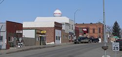 Emerson, Nebraska W side of Main St.JPG