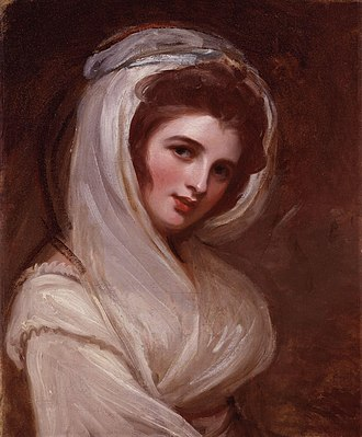 Emma, Lady Hamilton - Another portrait by George Romney, circa 1785
