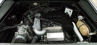 V6 PRV engine - PRV engine in a DeLorean