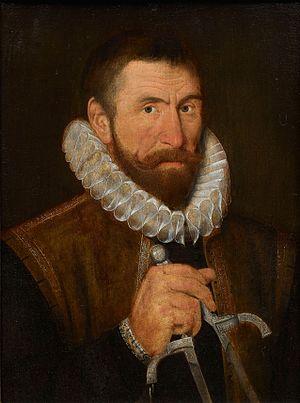 Ralph Symons - Ralph Symons, ca. 1595, National Portrait Gallery, London