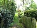 Entering Little Bognor on footpath from Fitzleroi Farm - geograph.org.uk - 1259655.jpg