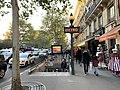 Entrée Station Métro Cluny Sorbonne Paris 5.jpg