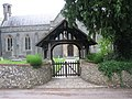 Entrance gate at St Matthew's - geograph.org.uk - 806695.jpg